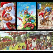 christmas island postage stamps