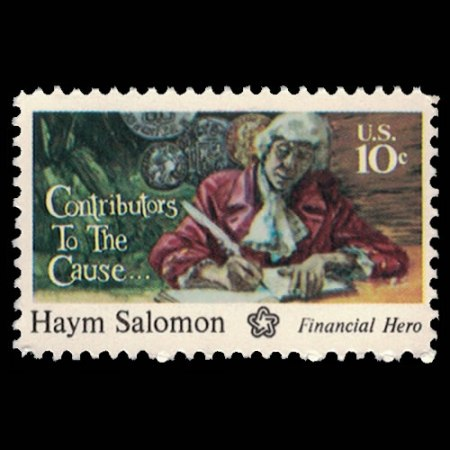 U.S. #1561 - Haym Salomon 10 Cent Stamp.