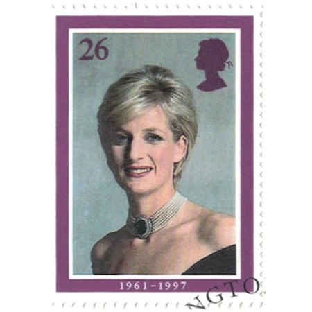 26 pence Great Britain Collectible Stamp #1791 - Princess Di
