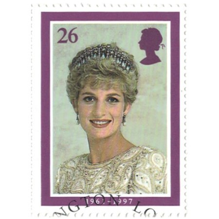 26 pence Great Britain Collectible Stamp #1793 - Princess Diana
