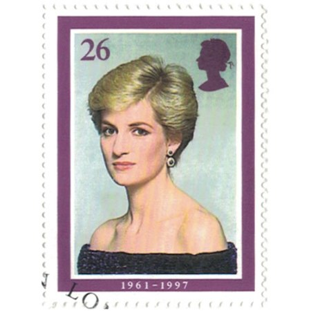 26 pence Great Britain Collectible Stamp #1795 - Princess Diana