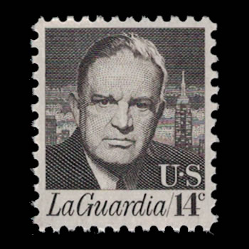 US Stamp #1397 - 14 Cent Fiorello LaGuardia Issue