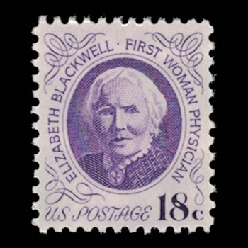 US Stamp #1399 - 18 Cent Elizabeth Blackwell Issue