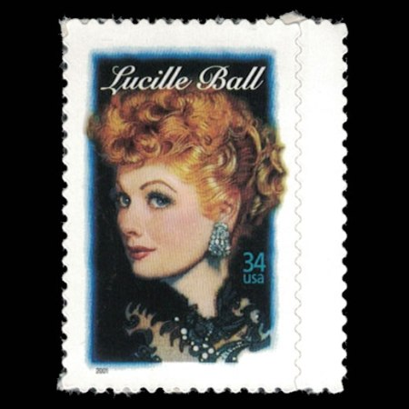 2001 U.S. Stamp #3523 - 34 cent Lucille Ball