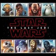 2017 Great Britain Star Wars Stamp Strips