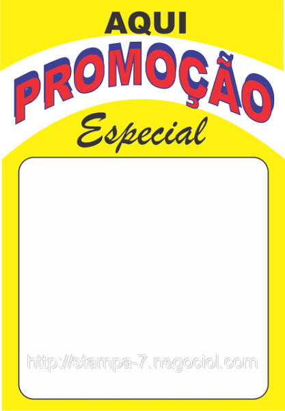 CARTAZES DE PROMOO  Loja stampa7
