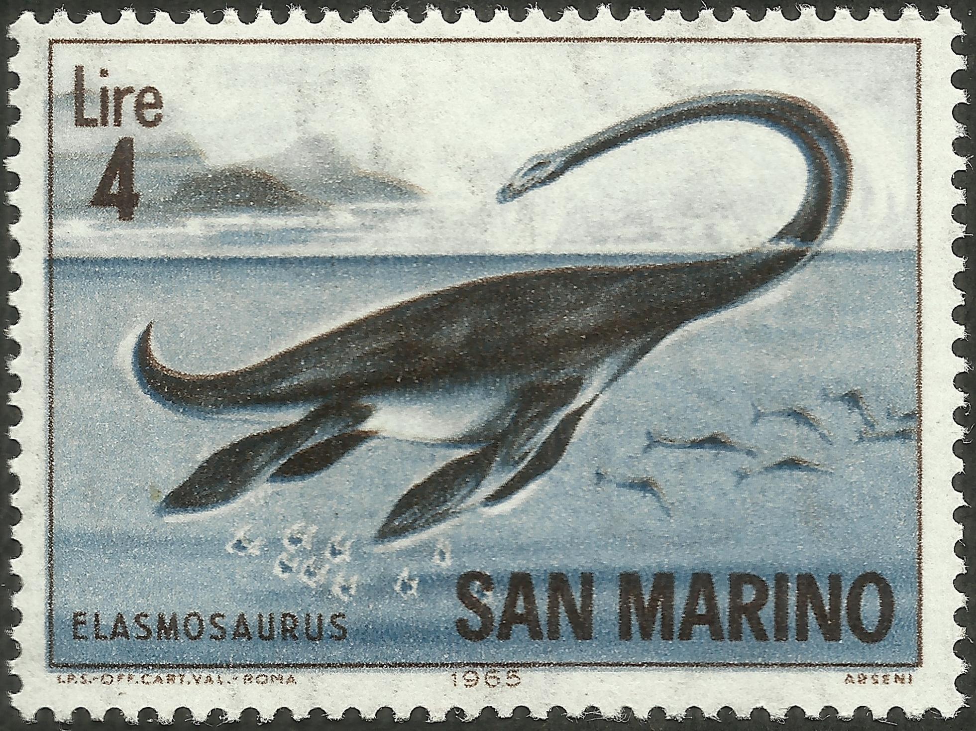 San Marino #615 (1966)