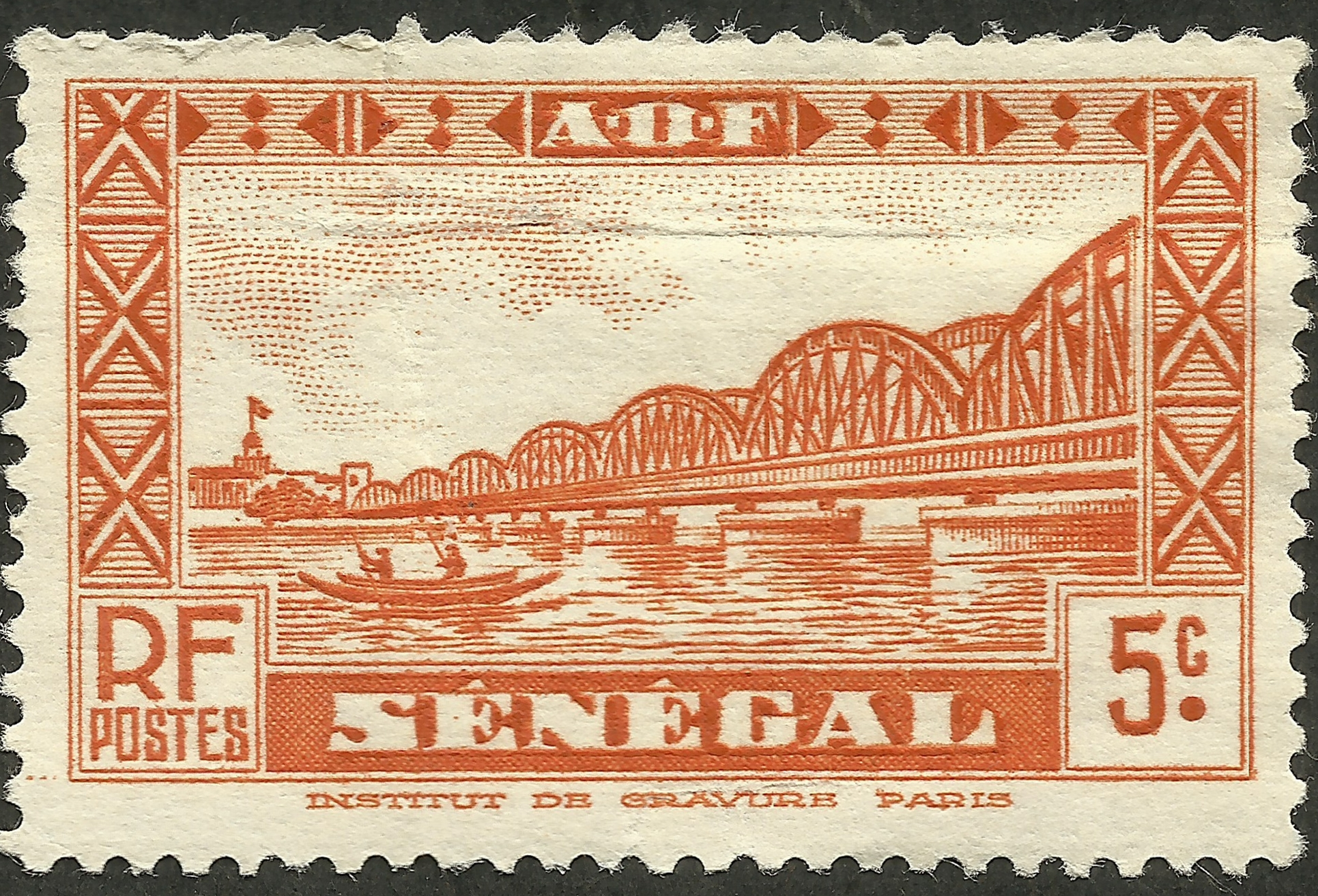 Senegal [French Colony] #146 (1935)