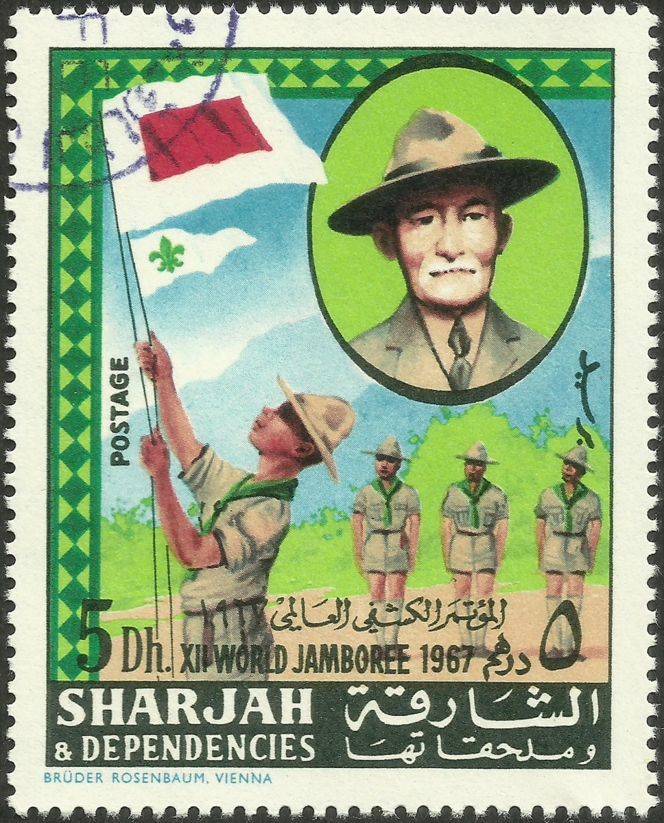 Sharjah amp Dependencies 12th World Scout Jamboree 1968