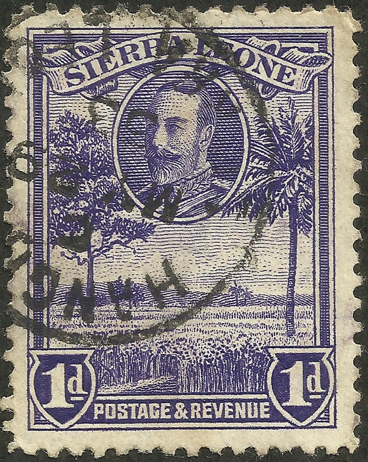 Sierra Leone #141 (1932)