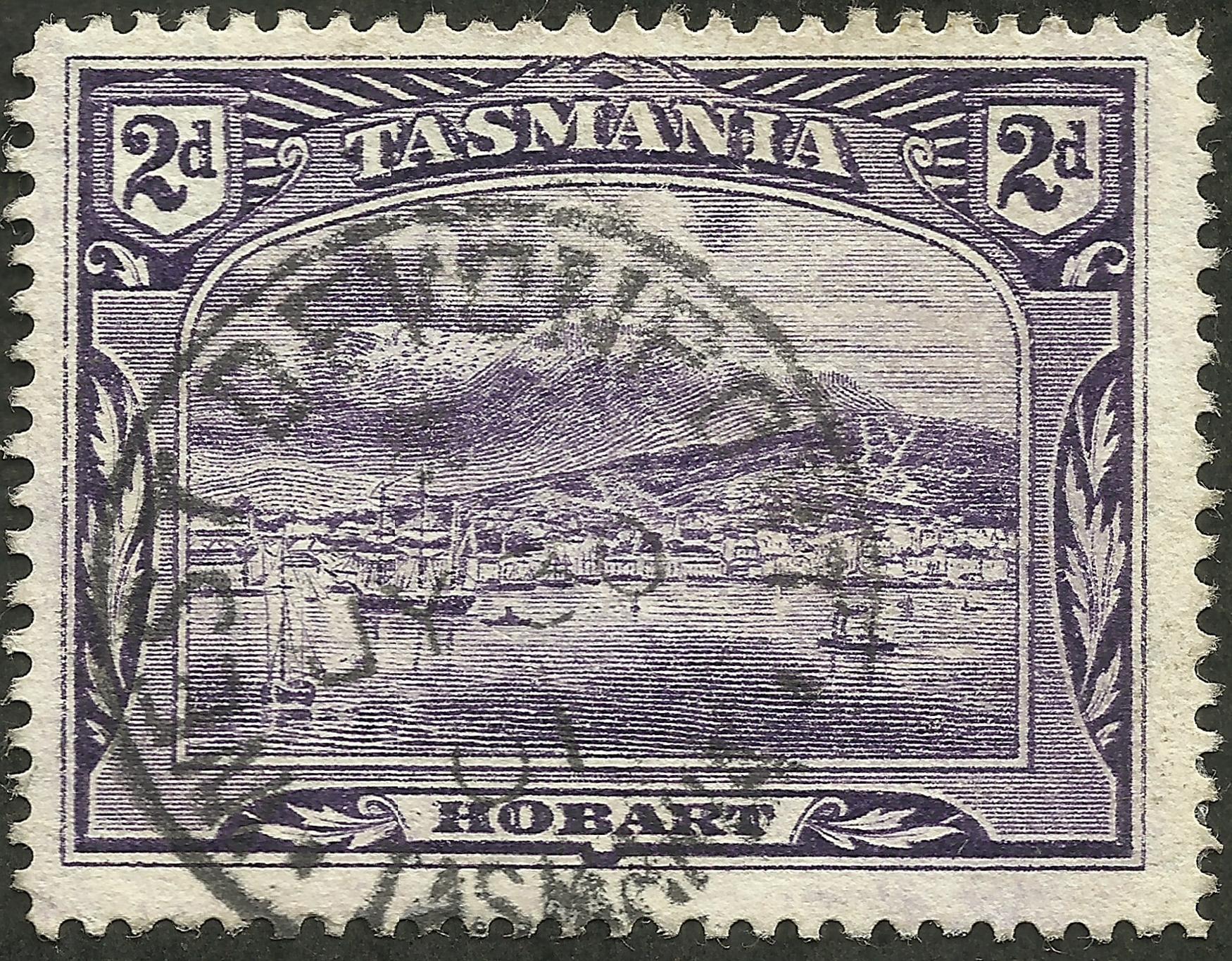 Tasmania #88 (1899)