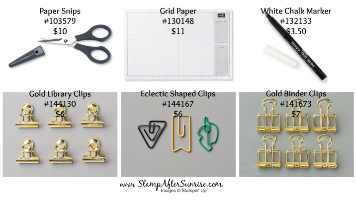 StampinUp-TN-Tax-Free-Weekend-2017-Clips-Snips-#StampAfterSunrise