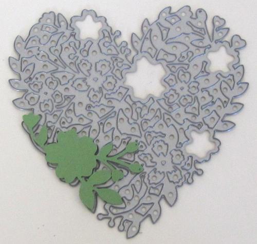 Bloomin' Heart Thinlet Die