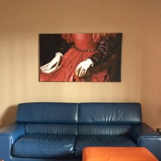 Quadri con tela canvas