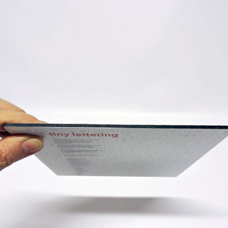 Stampa su alluminio dibond 3 mm