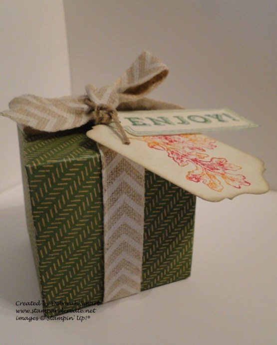 Gift Box Punch Board - Box