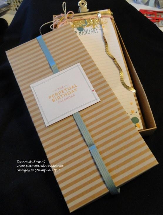boxed gift perpetual calendar
