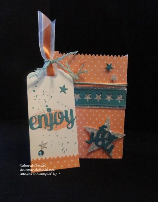 mini treat bag & tag