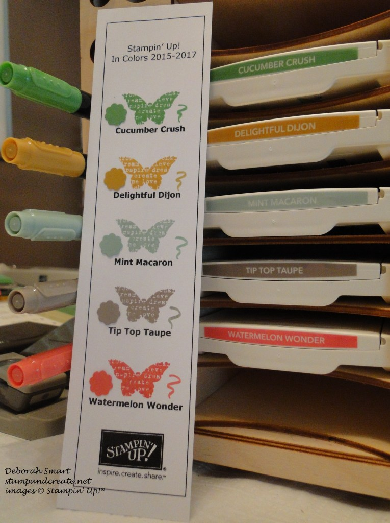 2015-17 In Colour bookmarks