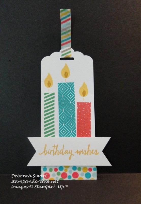Build a birthday tag
