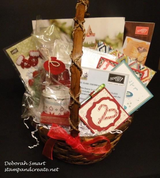 PoCo market gift basket prize