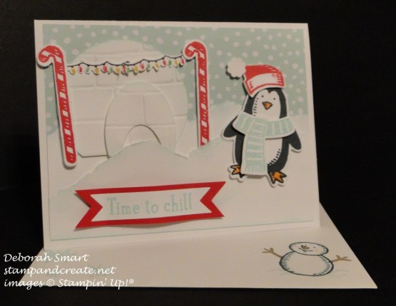 snow friends card for owen