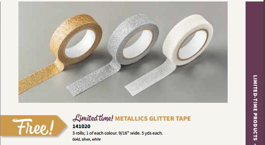 SU metallics glitter tape