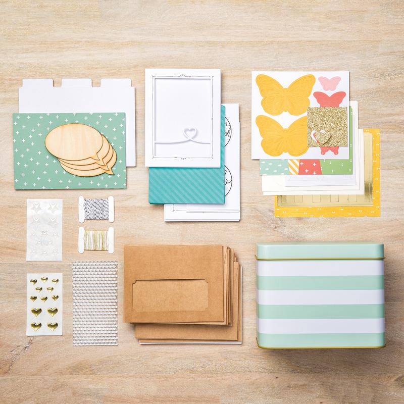 SU tin of cards kit
