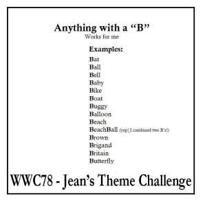 WWC78 Jean's challenge