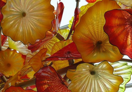 Chihuly glass sculpture
