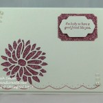 Special Reason stamp set with Stylish Stems Thinlits