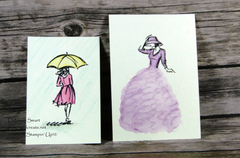 Colouring with Watercolour Pencils