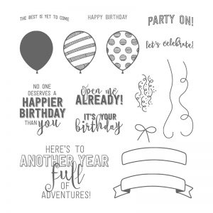 Balloon Adventures stamp set