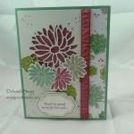 Stylish Stems Card Swap