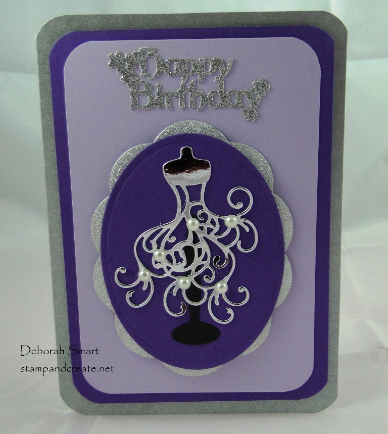 detailed die cuts - more card sharing with friends