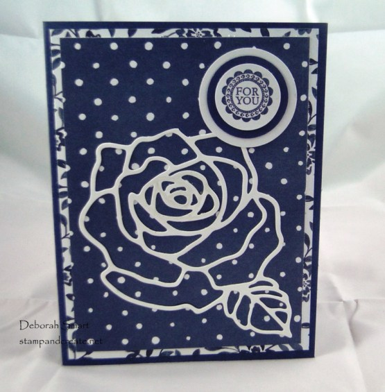 more card sharing with friends Rose Garden Thinlits
