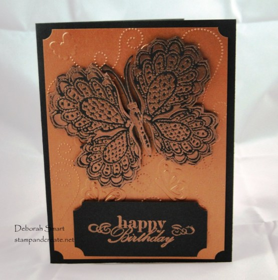 Card Swap with Friends - Copper Foil