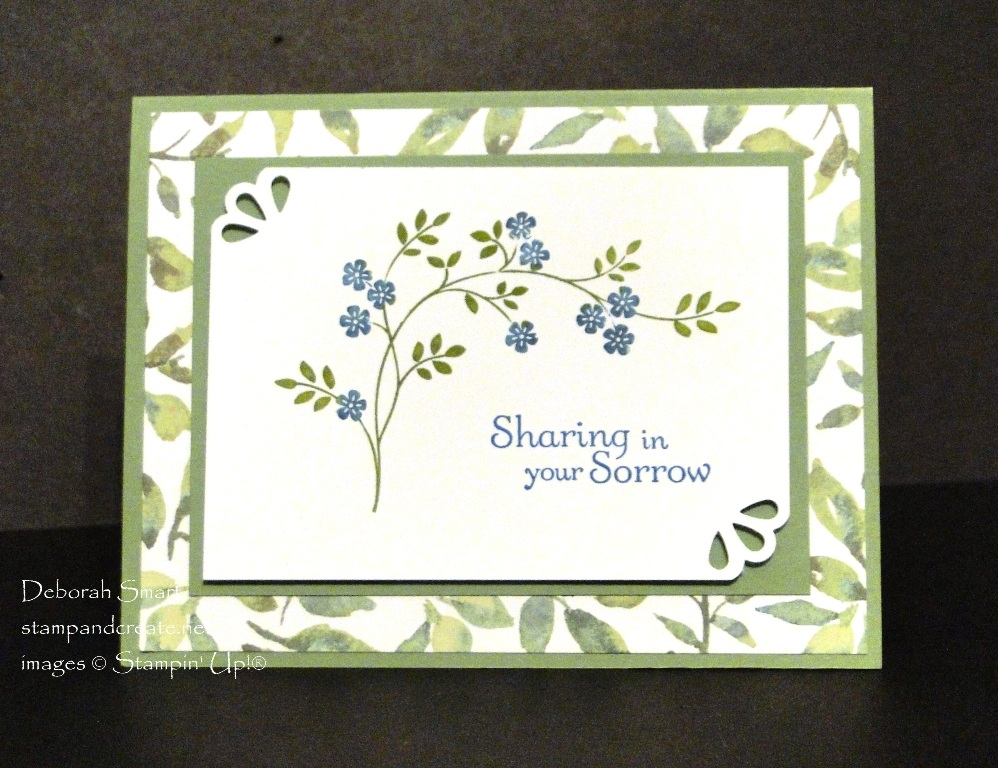 Thoughts & Prayers Sympathy Cards for a Friend