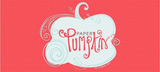 November Paper Pumpkin