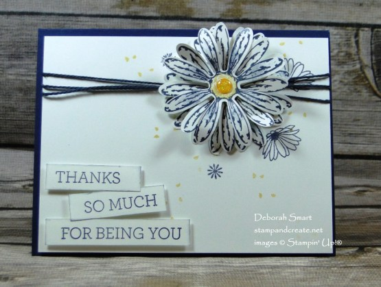 Daisy Delight for Paper Craft Crew Challenge