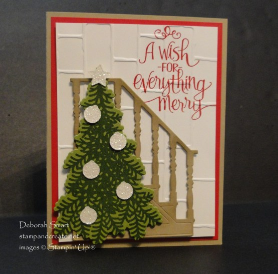 Christmas Staircase Card