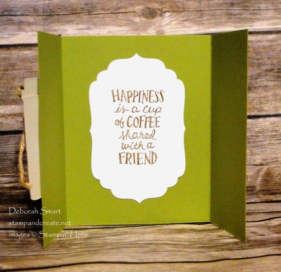 Coffee Break Fun Fold Card