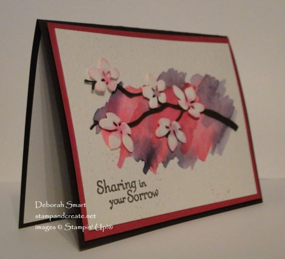 Seasonal Layers Sympathy Card