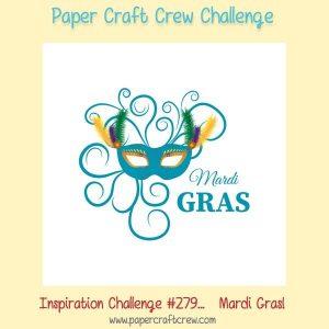 Celebrate Mardi Gras with the Paper Craft Crew