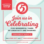Celebrate 5 Years with Paper Pumpkin