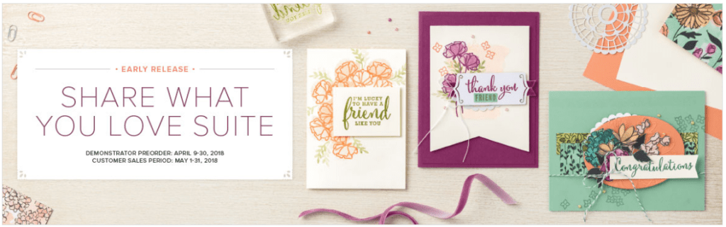 Special Pre-Order Share What You Love Suite