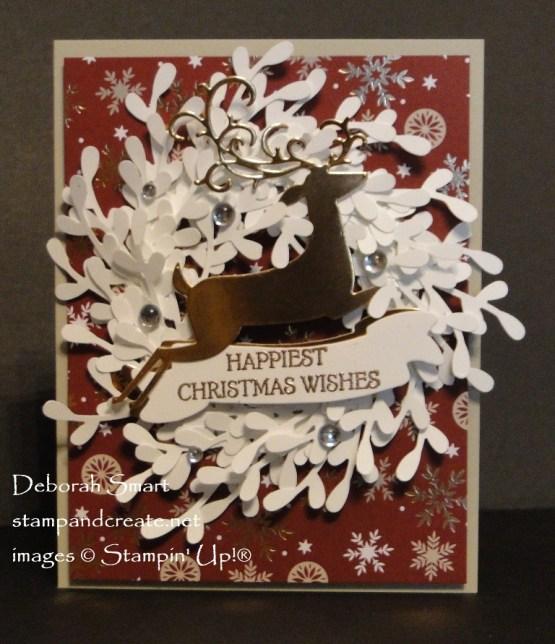 Dashing Deer Wreath
