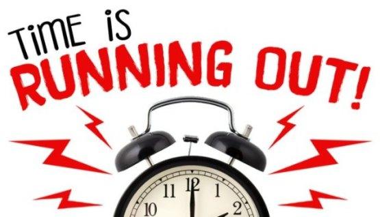 24 Hour Last Chance Warning!