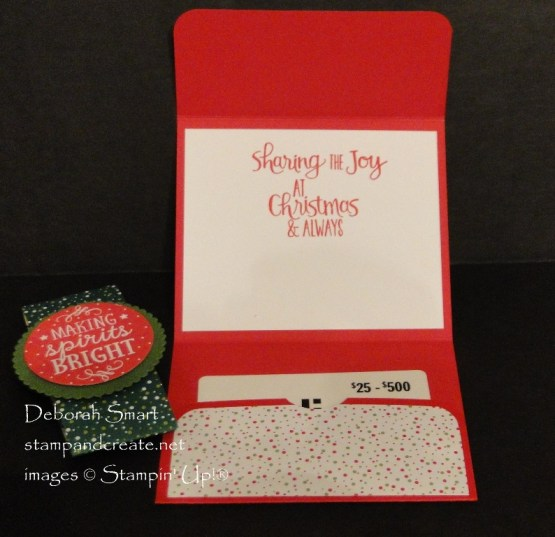 Smaller  Gift Card Holder