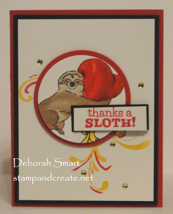 Thanks a Sloth!